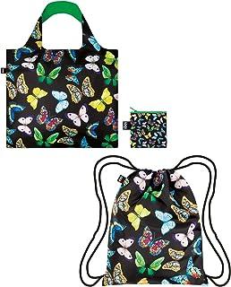 LOQI 背包和包 Wild Butterflies (Set of 2)