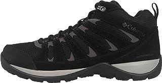 Columbia 男士 Redmond V2 防水中筒靴,透气皮革,远足