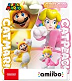 Nintendo 任天堂 amiibo 猫马里奥和猫桃子(Nintendo Switch)