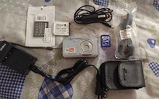 Casio 卡西欧 Exilim EX-Z80SR 8MP 3x 变焦 2.6 英寸 LCD 屏幕数码相机(银色)