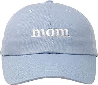 Mom 帽子 可爱有趣缝合的女式母亲妈妈妻子图案棒球帽