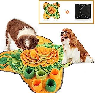 ISEN COOL Snuffle Mat 宠物狗喂食垫,耐用互动狗狗玩具鼓励自然觅食技能