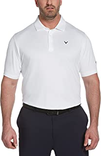 Callaway 男士 Swing Tech 短袖高尔夫 Polo 衫(加大加长和常规)