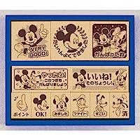 BEVERLY 迪士尼 印章 印章 米老鼠 木制*励印章 SDH-072