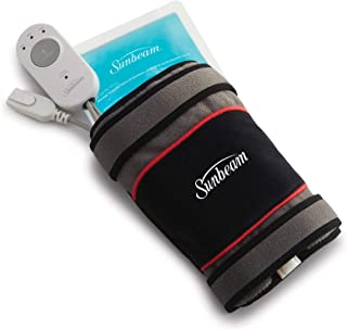 Sunbeam Flextemp 关节缓解加热垫,适用于肘部或膝盖, 3 种加热设置和 2 小时自动关闭