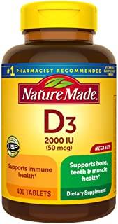 Nature Made 维生素D3 2000国际单位 400粒