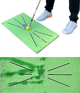 Lapto 高尔夫训练垫,用于挥杆检测击球(1 件装),高尔夫挥杆练习冲击垫,室内户外高尔夫击球垫,送给高尔夫初学者的礼物
