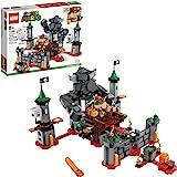 LEGO 乐高 Super Mario 马里奥·鲍泽的城堡,老板战斗扩展套装,71369,建筑套件;可供孩子们定制的乐高…