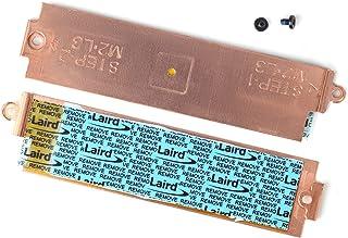 DAMOMCO M.2 2280 NVMe SSD 散热器盖硬盘隔热支架 YX0F3 0YX0F3 适用于 DELL Gaming G3 15 3500、DELL G5 15 5500、DELL G5 SE 5505 15.6 英寸笔记本电脑散...