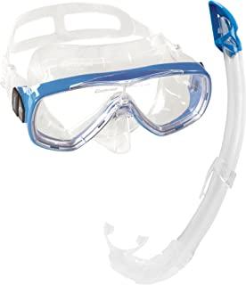 Cressi 男女通用 成人 Onda Mare 浮潜套装 潜水眼镜