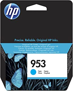 HP 953 青色原装 Ink Cartridge - 打印机墨盒(青色,标准,HP,-40-60°C,Officejet Pro 8210 Officejet Pro 8218 Officejet Pro 8710 AIO Officejet...
