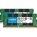 Crucial 英睿达 内存卡 CT2K16G4SFD8266 32 GB Kit (16 GB x 2)(DDR4、2…