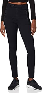 G-STAR RAW 女式焊接高腰修身斜纹休闲裤