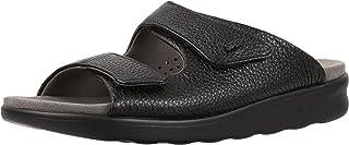 SAS 女式舒适皮凉鞋