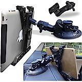 Randconcept 3 合 1 平板电脑支架车载通风口支架 - [强力吸盘版] 通用仪表板挡风玻璃支架 适用于 iP…