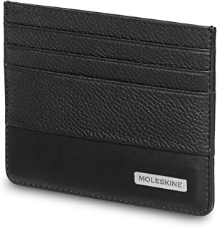 Moleskine Moleskine 包 经典款 相应 皮革风格 钱包 ET84CMWSFBK 黑色