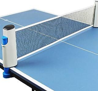 Alion 乒乓球网便携式可伸缩乒乓球网架套装 - 替换乒乓球配件,灰色