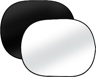 Bresser 摄影棚 TR-3 折叠背景 双面 140 x 190 厘米 黑色/白色