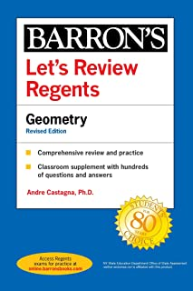 Let's Review Regents: Geometry Revised Edition (Barron's Regents NY) (English Edition)
