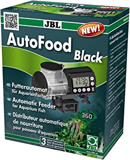 JBL 水族箱鱼类自动喂食机 黑色
