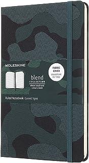 Moleskine 笔记本 NOMADE Bradcollection 限定版 笔记本书 外观(横格) 大 迷彩 绿色 LCBD03QP060CAMOK