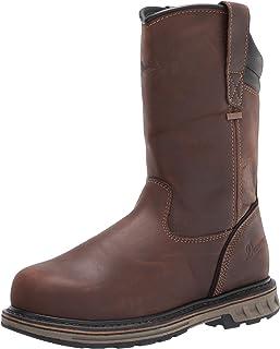"Danner 男士 Steel Yard Wellington 11"" 工程靴"