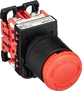 富士电机 φ22.3・25.5共用 紧急停止用按钮开关 红色 AR22V4R-02R