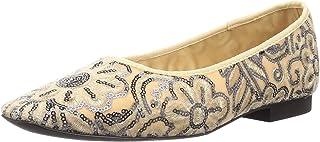 Lily Brown 丝绒刺绣平底鞋 LWGS205307 女士