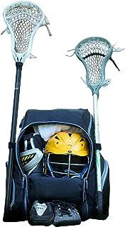 Throwback 游戏包 XL - 大曲棍球背包和带冷却器的曲棍球包 - 非常适合多种运动运动运动员 - 包括网球、壁球和独立鞋隔层