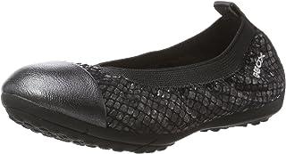 Geox 儿童 JR Piuma 60 芭蕾平底鞋