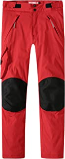 Camii Mia 青少年大女孩冬季保暖运动工装雪裤防风防水软壳隔热滑雪裤