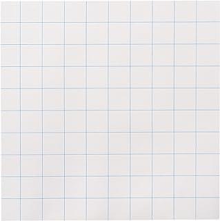 School Smart 绘图纸,25.40 x 25.40 厘米,白色,500 张,(型号: 085282)