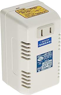 日章工業 变压器 海外旅行用 插电用 AC110V~130V(50/60Hz) AC220V~240V(50Hz)→AC100V 1000W 我的宠物系列 KNP-155