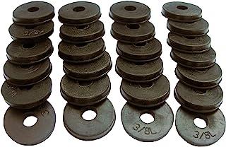 LASCO 03-4325 塑料管滑动接头延长带螺母和垫圈 黑色 6-Pack (of 25)
