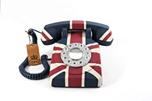 GPO 复古联旗英国艺术装饰复古按钮电话