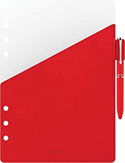 Filofax A5 收纳笔环,红色 (B341002)