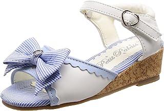 [马赛威斯] 双肩包 带有绑带蝴蝶结 凉鞋 女孩 女孩