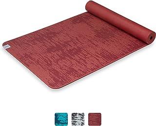Gaiam 瑜伽垫 - 6 毫米 Insta-Grip 超厚密纹理防滑练习垫,适用于各种类型的瑜伽和地板锻炼,68 英寸长 x 24 英寸宽 x 6 毫米厚