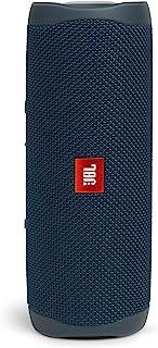 JBL FLIP5 Bluetooth音箱 IPX7防水/USB Type-C充电/搭载无源辐射器/便携式 蓝色 JBLFLIP5BLU