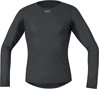 GORE WEAR 防风男士保暖打底衫,Gore M 防风底层保暖长袖衬衫,100324