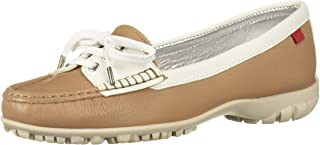 MARC JOSEPH NEW YORK 巴西制造女式皮革高尔夫鞋