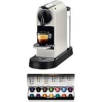 De'Longhi 德龙 Nespresso Citiz EN167.W 咖啡机,高压泵和理想的热调节,无Aerocci…