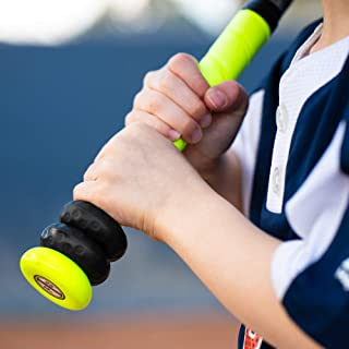 Bat Grip Choke up Ring 2 只装,适用于青少年棒球、垒球和高尔夫球