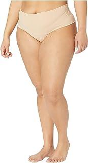 hanky panky 女式加大码裸色Godiva 高腰丁字裤 Biscotti 20-22 Plus