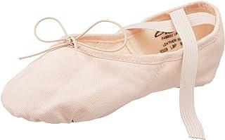 Capezio 2028 女士帆布 Juliet 芭蕾舞鞋