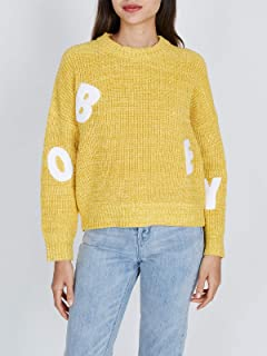 Obey 女式套头圆领毛衣