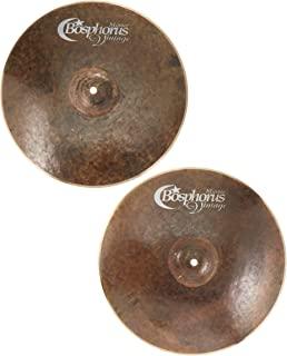 Bosphorus Cymbals A15HC 15 英寸古董系列帽子镲片一对