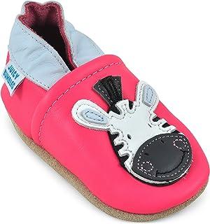 Soft Sole 皮革婴儿鞋 – 男婴鞋 – 女婴鞋软帮鞋