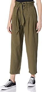ONLY 女士 Onlpipi Life Hw Paperbag 宽裤 PNT 长裤