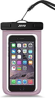 JOTO 通用防水袋手机干燥袋保护套,适用于 iPhone 12 Pro Max 11 Pro Max Xs Max XR X 8 7 6S Plus SE,Galaxy S20 Ultra S20+ S10 Plus S10e /Note 1...